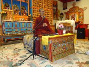 Ven. Khenpo Pema Wangdak at the Tibetan Association of Santa Fe