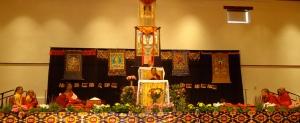 12-HH, Tulku Sangak Rinpoche, Khenpo Pema Wangdak & Sangha