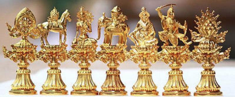 7 precious symbols